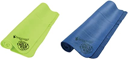 """33/"""" x 13/"""" Hot Pink Frogg Toggs Chilly Pad Cooling LARGE Towel"""