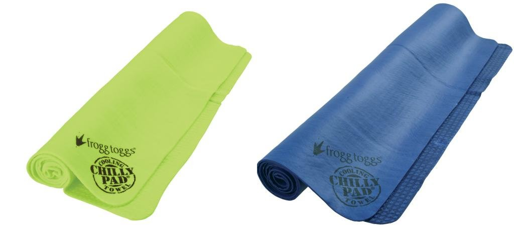 Frogg Toggs Chilly Pad Cooling Towel,One Size,Lime & Dark Blue by Frogg Toggs