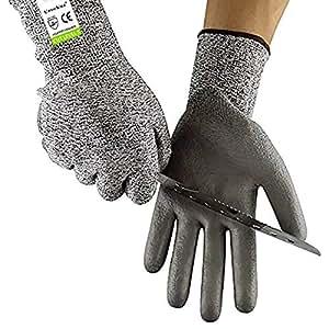 Resistente a los cortes guantes PPE nivel 5 protección