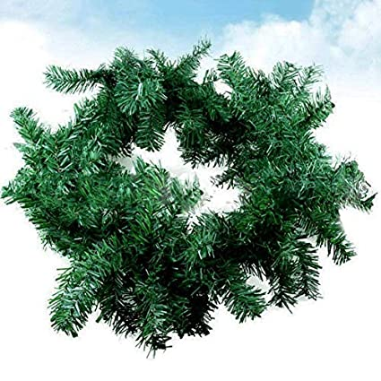 AITOCO Guirnalda de Navidad Guirnalda Artificial Guirnalda de Navidad Decoración para Escaleras Puerta de la Pared