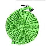 30 Metre Expanding 100ft Expandable Flexible Garden Water Hose Pipe Non Kink