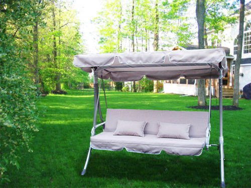 Waterproof Swing Canopy Patio Porch Top Cover Replacement Outdoor S/ M/ L