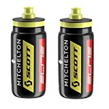 Elite Fly Bottles Team Mitchelton Scott - Black, 550ml (2 Pack)