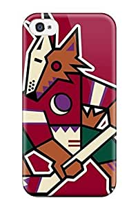 Diy Yourself Anti-scratch case cover DanRobertse protective Phoenix Coyotes Hockey Nhl case cover For Iphone 4/4s t4mV7o40Uk5