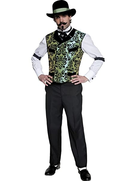 Disfraz Carnaval Hombre Western Far West Saloon Vestido Smiffys ...