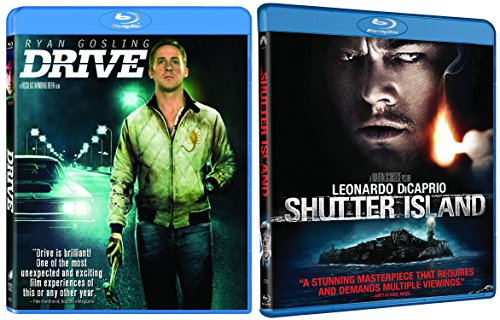 Shutter Island & Drive Blu-ray Movie Bundle Set