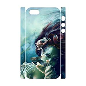 Little mermaid CHA2036621 3D Art Print Design Phone Back Case Customized Hard Shell Protection Iphone 5,5S