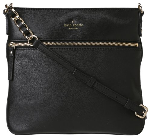 kate spade new york Cobble Hill Ellen Cross-Body Handbag,Black,one ()