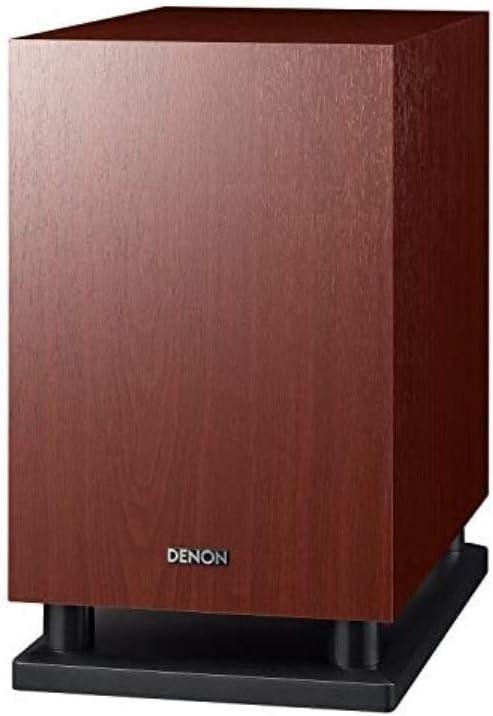 デノン Denon DSW-37 最大出力100W(PEAK)で迫力の重低音を再生するサブウーハー17/37 シリーズ共通 サブウーファー 木目 DSW-37M