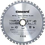 Concord Blades MCB0650T040HP 6-1/2-Inch 40 Teeth TCT Ferrous Metal Cutting Blade