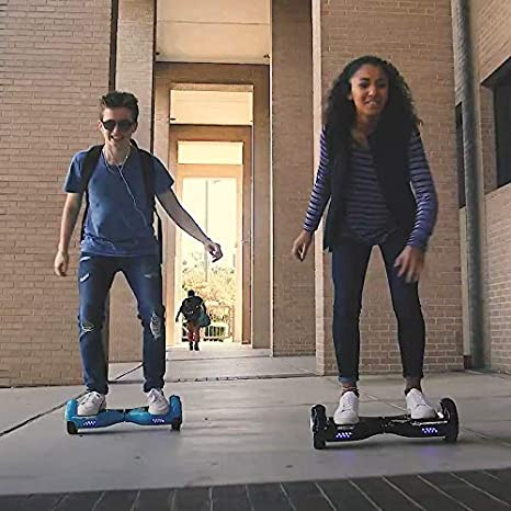 Dual Motor up to Max 10km//h GOTRAX Hoverboard with Bluetooth Speaker LED 6.5 inch Wheels Big Capacity Lithium-Ion Battery Up to Max Work 75minutes per Charge UL2272 Certified