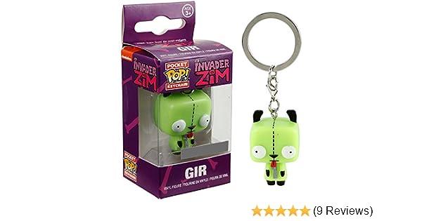 Funko Invader Zim Pocket POP! Gir Exclusive Keychain