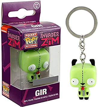 Funko Invader Zim Pocket POP! Gir Exclusive Keychain