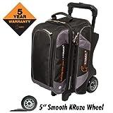 Cheap Hammer Premium Double Roller Bowling Bag, Black/Carbon
