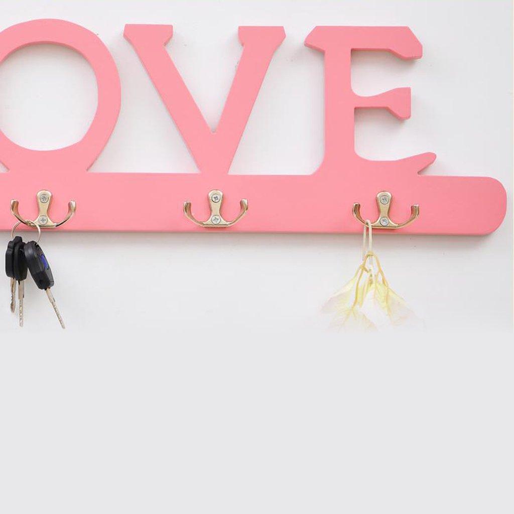 ZML Moda Creativa Moderna Love Perchero Colgante de Pared ...