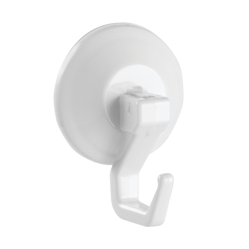 Interdesign Power Lock Bathroom Shower Plastic Suction Cup Hooks For