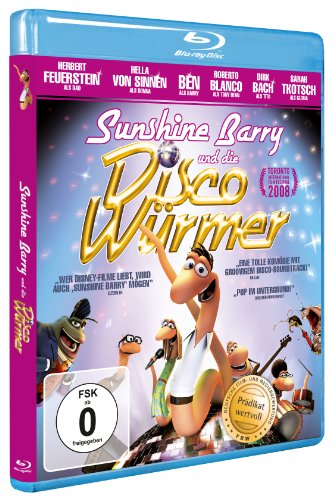 Sunshine Barry & the Disco Worms (2008) ( Disco ormene ) ( O efthymos Barry kai oi discoskolikes (Sun shine Barry and the Disco Worms) ) [ NON-USA FORMAT, Blu-Ray, Reg.B Import - Germany ]