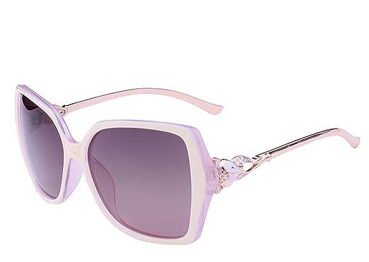wket Rhinestone de la mujer Fox Oversize anti-UV gafas de ...