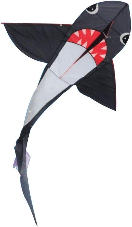 Kite Shark Adulto Juguete para Exteriores Brisa Fácil de Volar Kites Grandes para niños