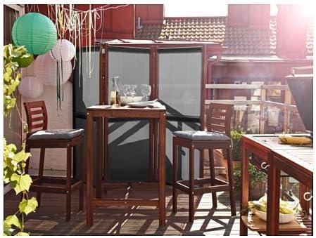 Empire Sterling Biombo de 3 Hojas – Ideal para jardín, terraza o ...