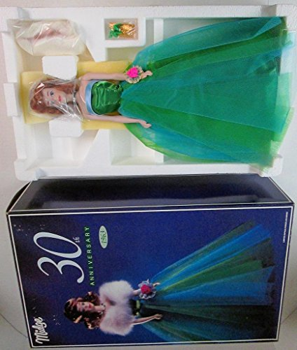 Limited Edition Porcelain 30th Anniversary Midge Barbie Doll From 1993 Barbie Limited Edition Porcelain