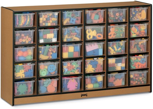 30 Tray Mobile Cubbie Without Trays -