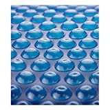 Heat Force 15' Foot Round Blue Solar Blanket Solar Cover for Above Ground Pools 8-mil