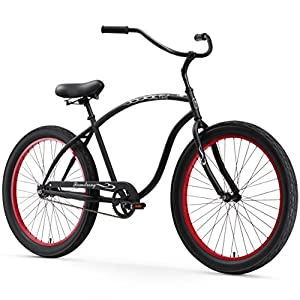 FirmStrong Chief 3.0 Men's 26 Single Speed Beach Cruiser Bike