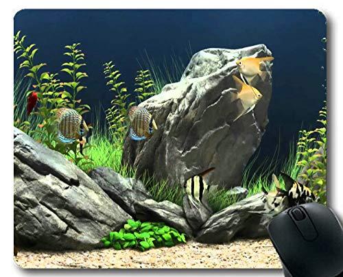 Mouse pad 181226-010 con diseño de peces para videojuegos, Yt22, 300 * 250 * 3 mm