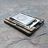 MultiWallet Highlander Edition. Kydex Tactical Minimalist Wallet With Money Clip and Multitool