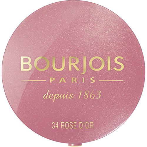 Bourjois Blush for Women, No. 34 Rose d'or, 0.08 Ounce (Blush Scented)