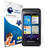 Tech Armor Blackberry Z10 Premium High Definition (HD) Clear Screen Protector with Lifetime Replacement Warranty [3-PACK] Retail Packaging