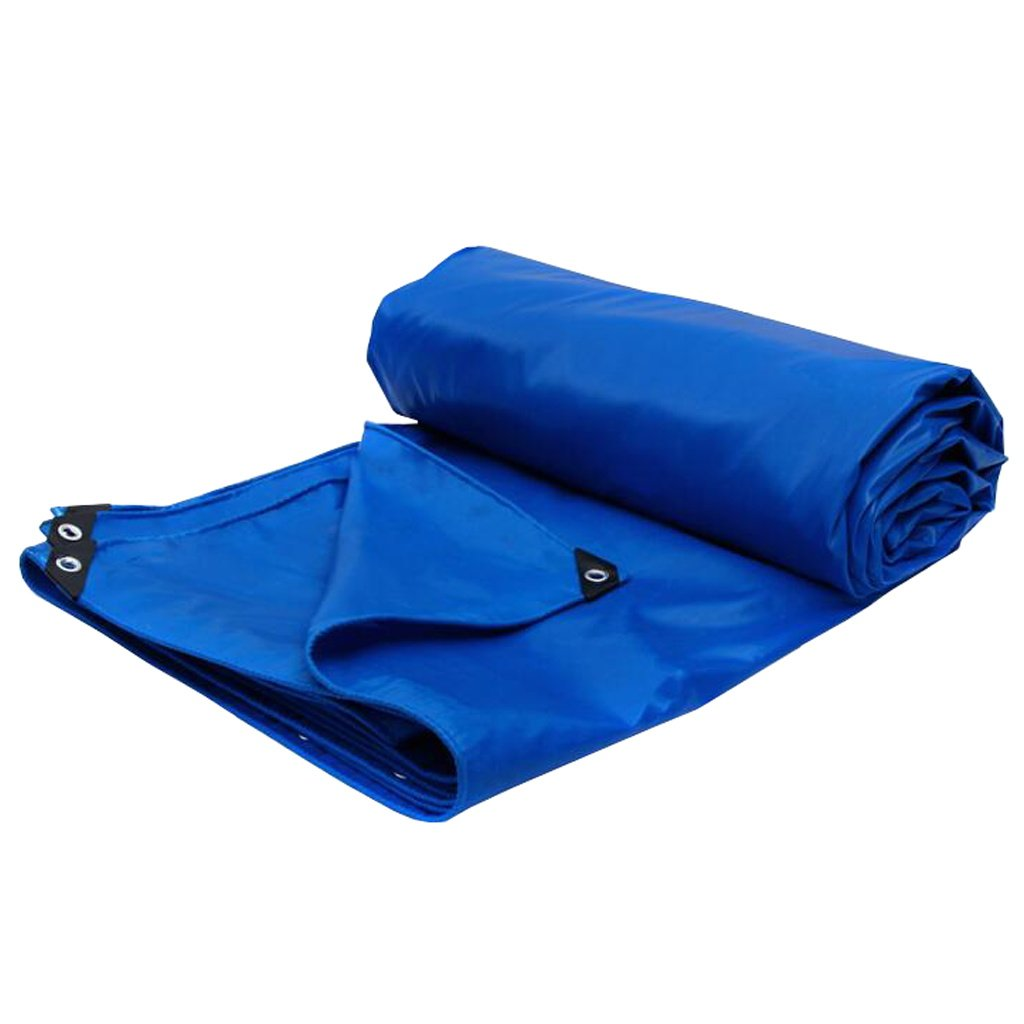 Zelt Zubehör Plane Plane Waterproof Waterproof Plane Heavy Duty/Plane Blatt, 480g / m², Blau - 100% wasserdicht und UV-geschützt Idee für Camping Wandern f6d57b