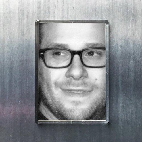 Seasons Seth Rogen - Original Art Fridge Magnet #js002
