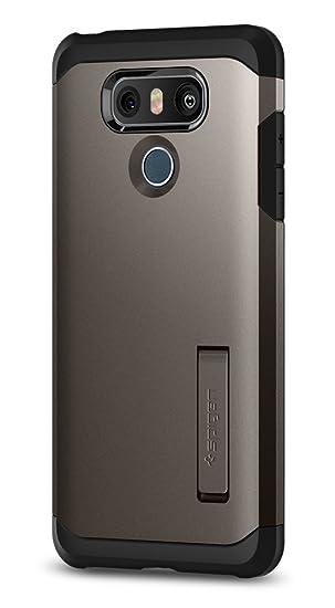 info for 5df79 98bfb Spigen Tough Armor Designed for LG G6 Case (2017) / LG G6 Plus Case (2017)  - Gunmetal