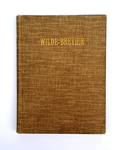 Wilde-Brevier.