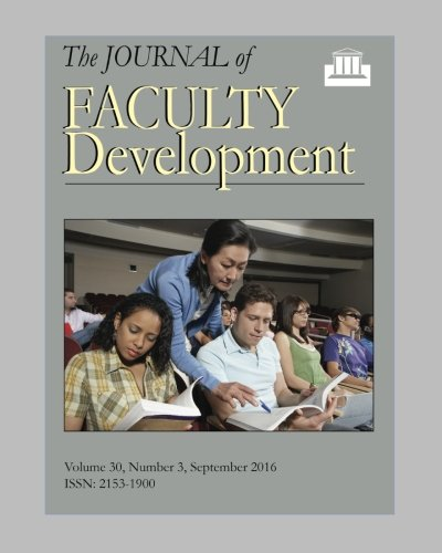Journal of Faculty Development, Volume 30, Number 3 PDF