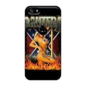 Fashion Design Phone case Slim Fit Tpu Protector Shock Absorbent Bumper Pantera Case For Iphone 5/5s