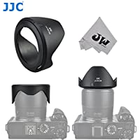 JW LH-JDC100 Lens Hood For Canon PowerShot G3 X / SX60 HS / SX50 HS / SX40 HS / SX30 IS / SX20 IS / SX530 HS / SX520 HS replaces Canon LH-DC100 & FA-DC67B+JW Cleaning Cloth