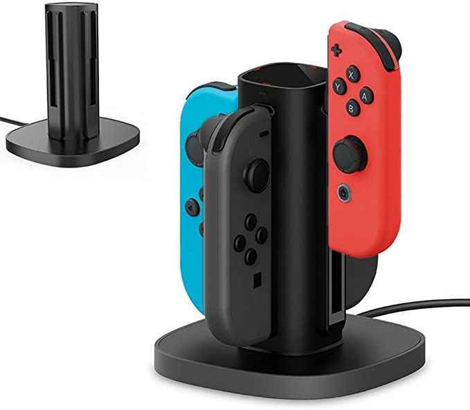 Centeni Switch Joy Con Charging Dock Charge Station for Nintendo ...