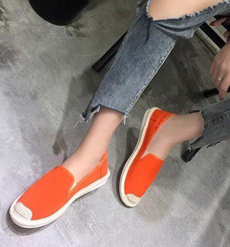 de KUKI del ocasionales o CN36 US6 femeninos planos EU36 zapatos UK4 lona los Zapatos 1 zapatos salvajes pa de 8xYrP8q