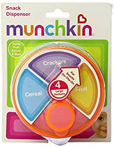Munchkin Snack Dispenser, Colors May Vary