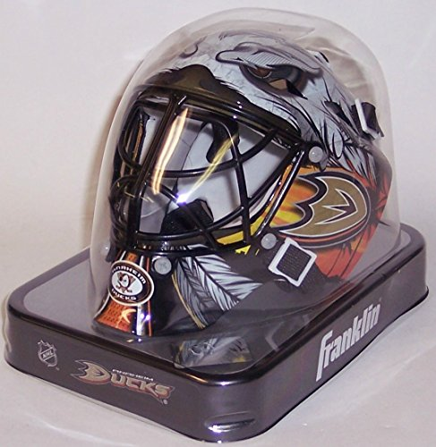 New Anaheim Ducks Franklin Sports Mini Hockey Goalie Mask - NHL ()