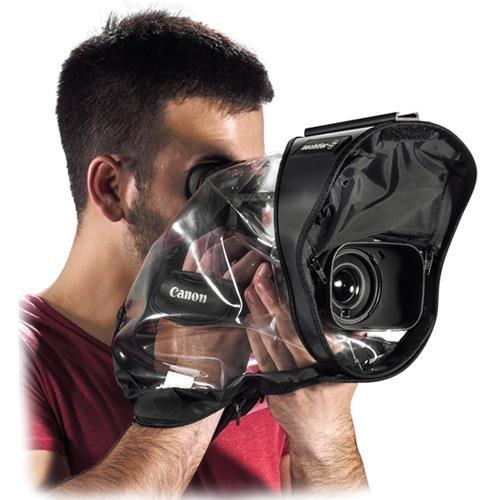 Sachtler SR405 Transparent Rain Cover for Mini DV and HDV Video Camera