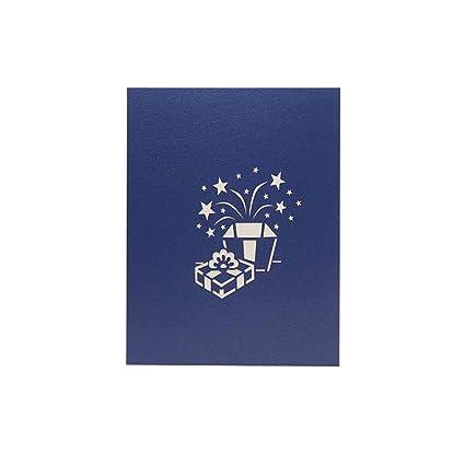 Amazon Com Bestoyard 3d Pop Up Card Birthday Wedding Card Crafted