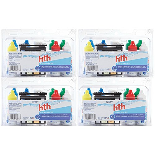 HTH 1173 6-Way Test Kit, Pack of 4 by HTH