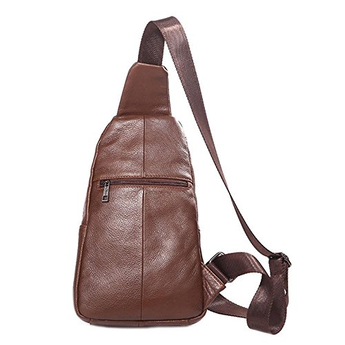 Manpower Suitcase Workforce Handbag Udder Cup Tea Pocketbook Hand Purse Traveling Force 1PCs 18cm Men S Crossbody Bag Cow Leather Waterproof Multifunction Messenger