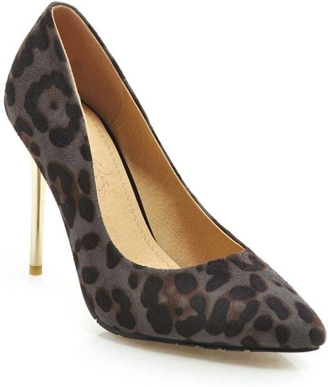 office leopard print heels