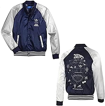 mini Nueve Opinión  Adidas Originals Star Wars Satin Bomber Jacket – X: Amazon.de: Elektronik