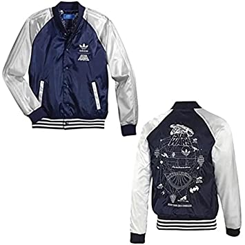 Adidas Originals Star Wars Satin Bomber Jacket –: